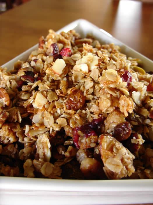 granola homemade granola recipe easy healthy homemade granola homemade ...