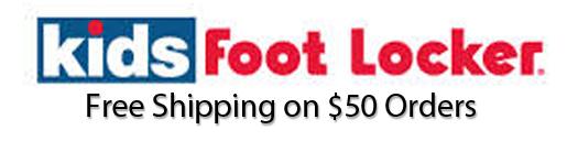 Foot locker kids coupons