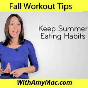 fall workout tips